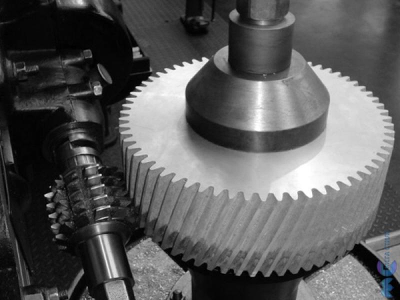 Зубофрезерная обработка металла на промышленных станках