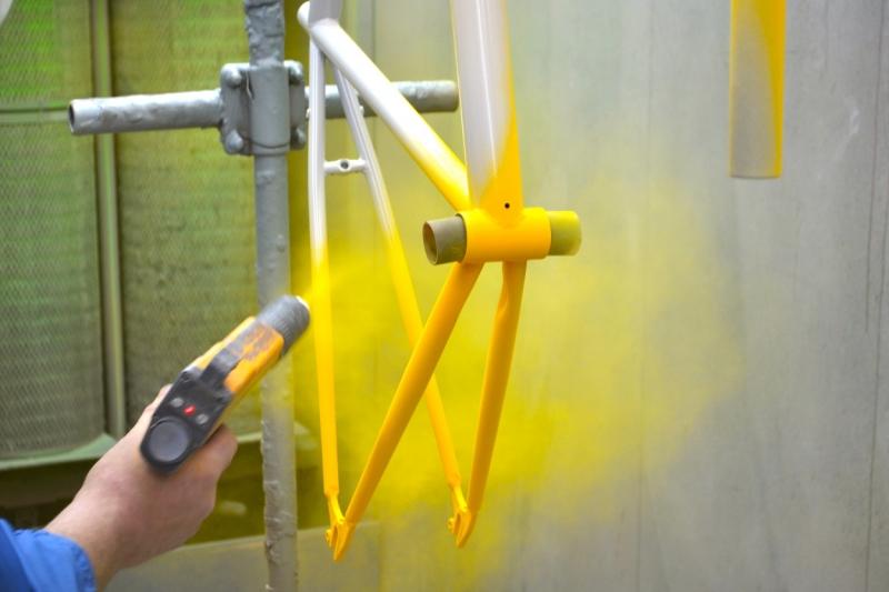 Порошковая покраска изделий из металла